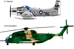 2款写实风格军用直升机矢量素材