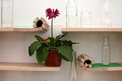 Rolling Shelf: 巧妙卷缩的架子