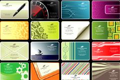 多款时尚精美卡片模板矢量素材