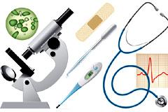 各种医疗用品矢量素材