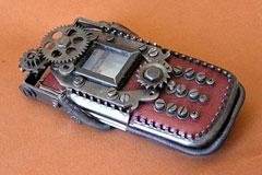 朋克风格的手机外壳