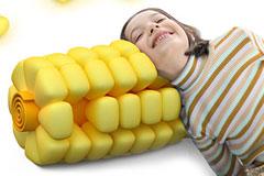 舒服又可爱的玉米抱枕