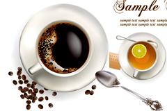 咖啡和茶矢量素材