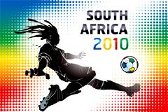 2010年南非世界杯相关矢量素材