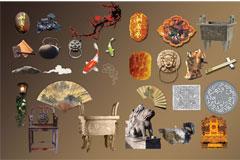 中国古典素材矢量素材