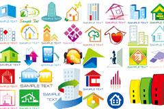 N多款房子Logo矢量素材