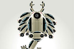 大众甲壳虫版十二生肖广告创意