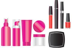 化妆品包装设计矢量素材