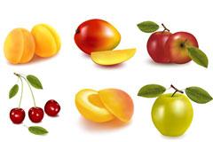 诱人水果矢量素材