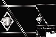高贵金属质感矢量素材