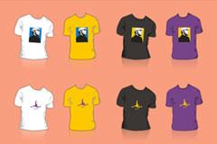 科比-布莱恩特T恤设计矢量素材