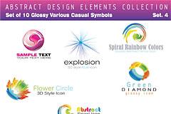 现代感的Logo矢量素材