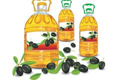 食用油矢量素材