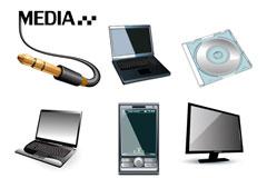 数码产品矢量素材