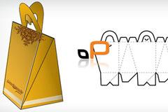 几种异型包装盒模型矢量素材