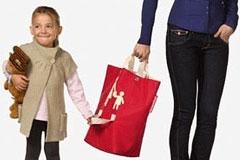 适合逛街购物的亲子购物袋