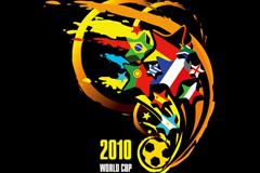 2010南非世界杯矢量素材