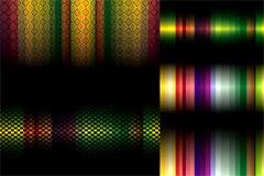 色彩变幻主题背景矢量素材