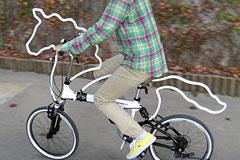 拉风的骑马自行车