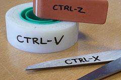 Ctrl-V,Ctrl-X,Ctrl-Z文具设计