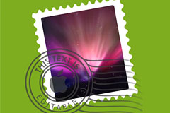 邮票和邮戳PSD分层素材下载