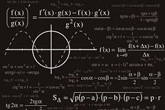 数学&物理公式矢量素材