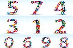 个性数字组成的数字
