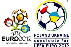 2012欧洲杯会徽标志矢量素材
