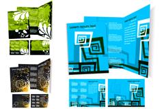 立体效果企业VI模板矢量素材