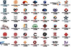 多款企业logo矢量设计稿