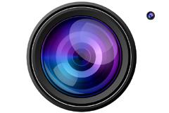 摄像机镜头PSD素材