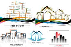 房地产logo矢量素材