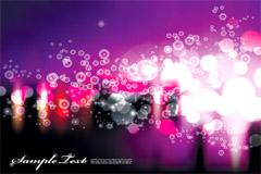 紫色梦幻光斑背景矢量素材