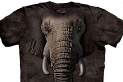 逼真的动物T-shirt