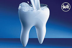 牛奶广告:让我们骨骼更加强壮