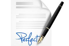 签字和钢笔PSD分层素材