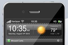 iPhone 4G概念手机PSD分层素材