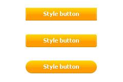 简洁质感PSD按钮素材下载