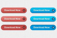 3款下载PSD按钮素材