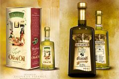 14款雅致的国外橄榄油包装设计欣赏