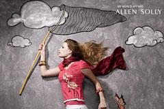 Allen Solly服装广告欣赏