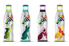 38款色彩艳丽的瓶装产品包装设计