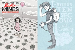 12副英国插画师Hammo绘画作品欣赏