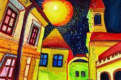13幅斯洛伐克女画家zzen绘画作品