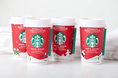 7组星巴克圣诞节产品包装设计欣