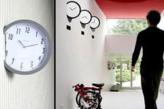 11款时尚挂钟设计欣赏
