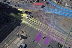 街头艺术:律动的十字路口