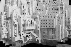 精悍的阿姆斯特丹纸雕塑艺术欣赏