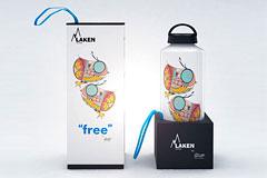 西班牙Laken水壶插画风格外包装设计欣赏