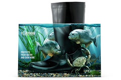 Fisherman胶鞋创意包装设计欣赏